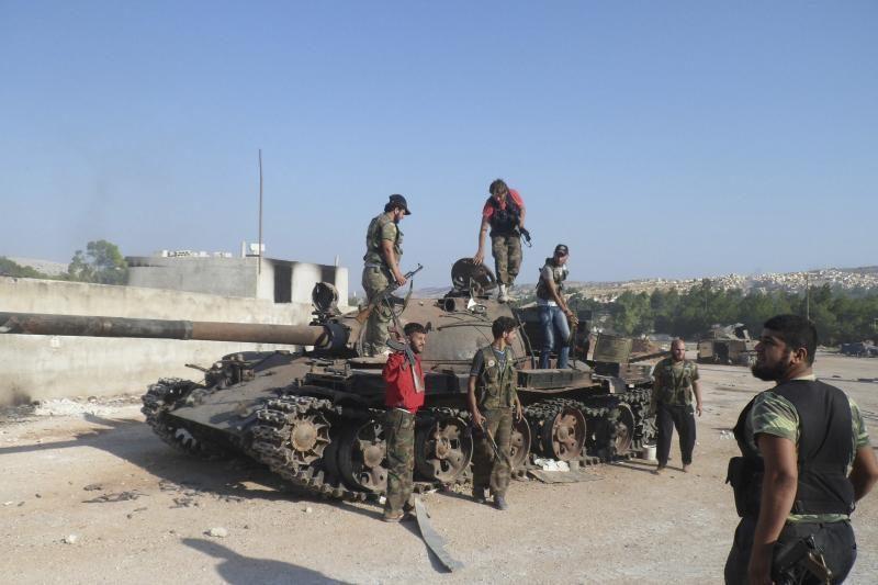 Sirijos opozicijos vadovas pirmąkart atvyko į savo šalį