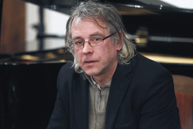 Kauno bibliotekoje – susitikimas su Metų knygos laureatu A. Šlepiku