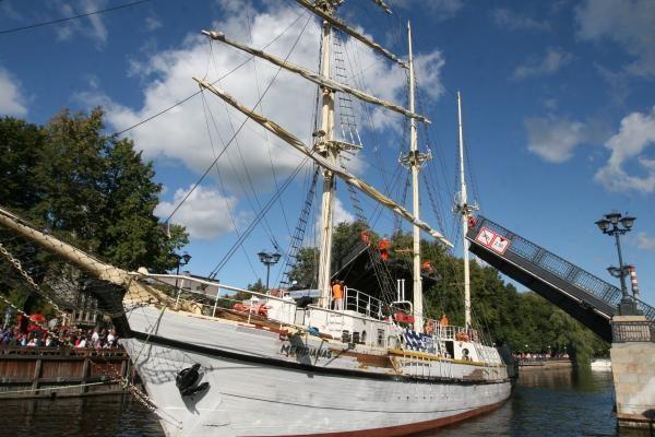 Gimtadienio dovana Klaipėdai – naujas laivas