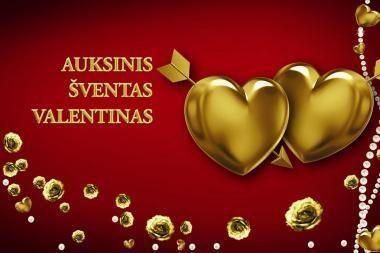 Šv. Valentino dieną žymios Lietuvos poros ryšis naujiems meilės iššūkiams
