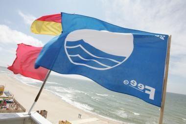 Klaipėdos paplūdimiai – be Mėlynosios vėliavos