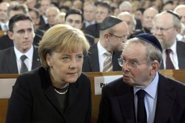 Vokietija pagerbė Krištolinės nakties aukas