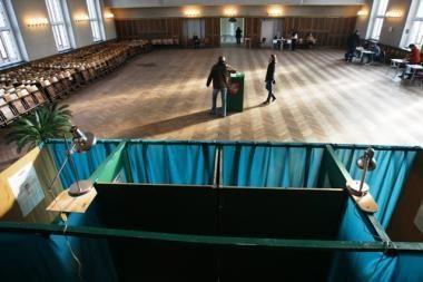 Rinkimuose dalyvavo mažiau klaipėdiečių (papildyta)