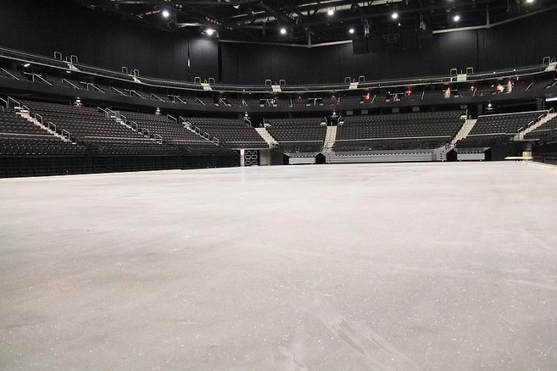 """""""Žalgirio"""" arenos krepšinio aikštė pavirs ledo čiuožykla"""