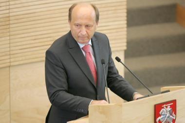 Atostogų po škvalo nenutraukęs A.Kubilius turės pasiaiškinti Seimui (papildyta)