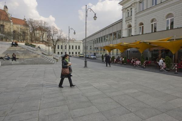 Vilniaus valdžia nusprendė dar pasvarstyti dėl gatvės žuvusio L.Kaczynskio garbei