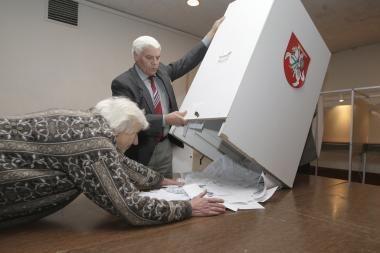 Seimo rinkimų rezultatai iš sostinės (papildyta)