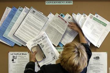 Jungtinėse Valstijose auga nedarbas