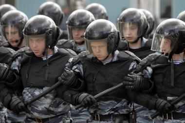 Maskvoje ruošiamasi masinėms riaušėms