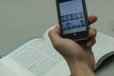 Naujoji sistema knygą skaitmenins per minutę