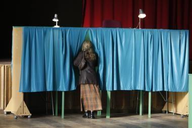 Renkant Seimo narius balsuojama neaktyviai, pažeidimai smulkūs (atnaujinta, papildyta)
