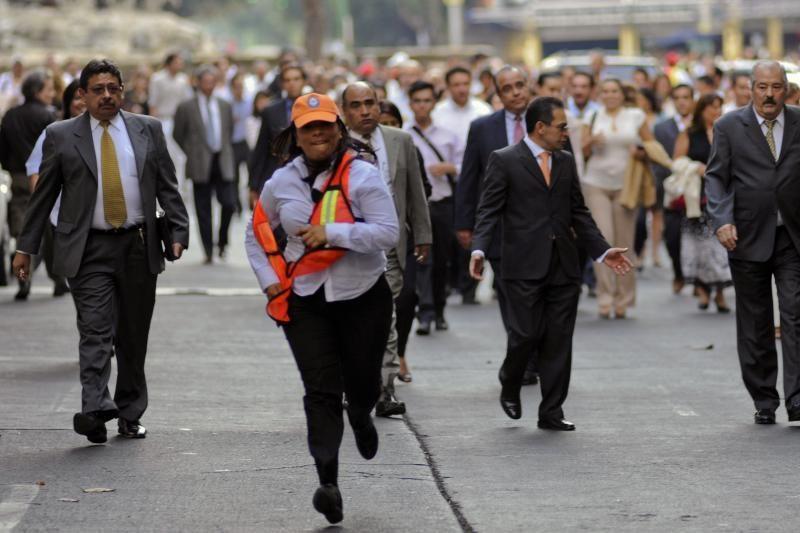Prie Meksikos krantų įvyko stiprus žemės drebėjimas