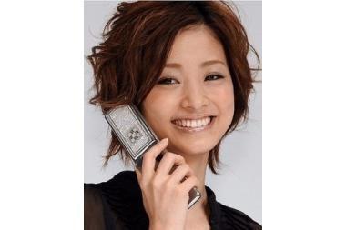 Japonijoje parduodami deimantais puošti telefonai