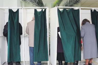 Pensininkės nubaustos už triukšmavimą rinkimų metu