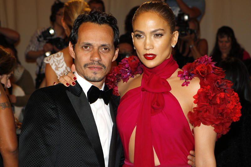 Marcas Anthony padavė skyrybų su Jennifer Lopez prašymą