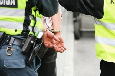 Klaipėdoje sulaikytas vyras, įtariamas žaibiškomis vagystėmis Europoje