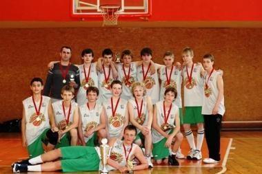 """Jaunieji """"Aisčių"""" krepšininkai – čempionai"""