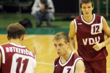 Kauno studentai laimėjo prieš MRU