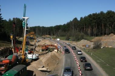 """""""Panevėžio keliai"""" stabdo Vilniaus vakarinio aplinkkelio statybas"""