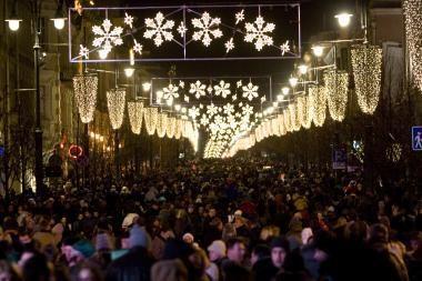 Šį savaitgalį Vilniuje šurmuliuos kalėdiniai renginiai