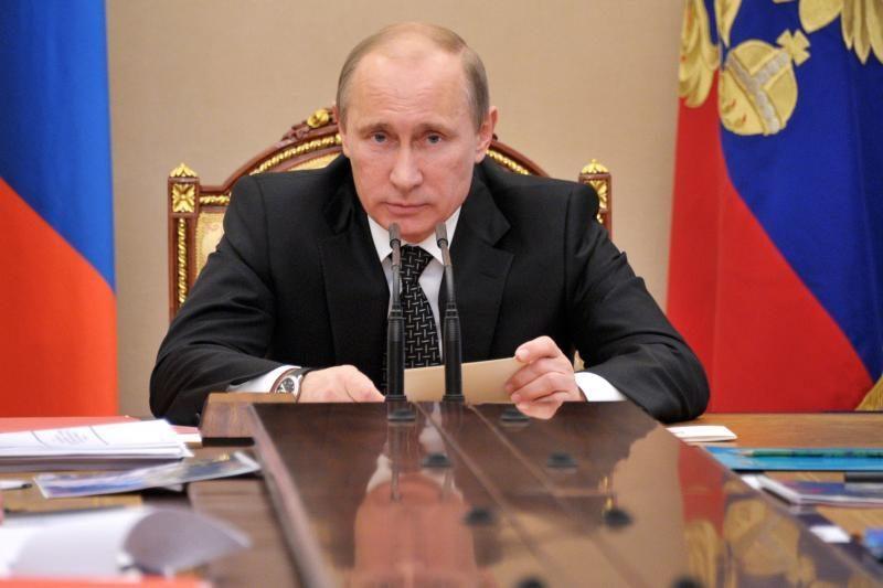 Vladimiras Putinas ignoruos Londono olimpiadą