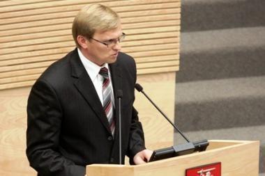 Seimas atvėrė kelią generalinio prokuroro atleidimui