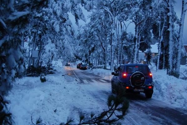 Dėl pūgų, sniego ir pustymo rekomenduojama atidėti keliones į atokesnes vietoves