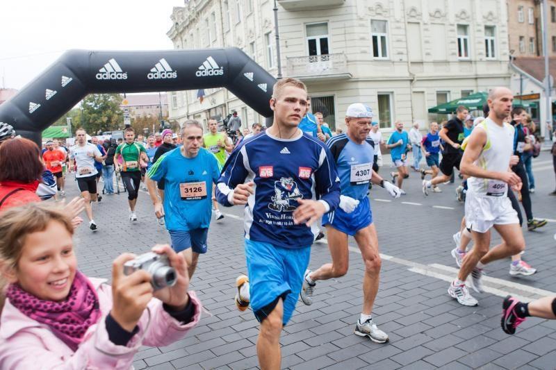 Aštuntąjį tarptautinį Vilniaus maratoną nugalėjo baltarusis