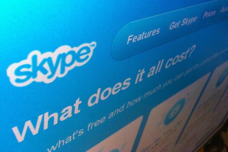 """""""Skype"""" vaizdo skambučiai tampa šantažo priemone"""