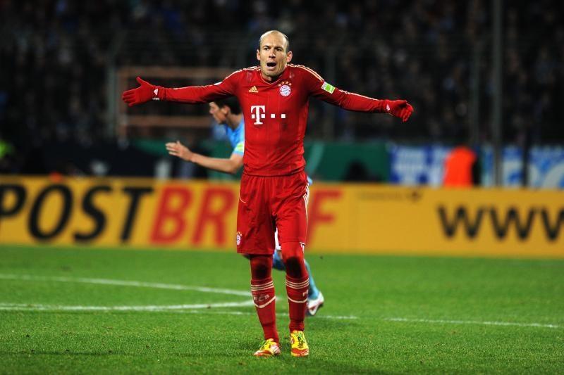 """""""Bayern"""" iškopė į Vokietijos taurės ketvirtfinalį"""