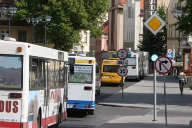 Autobusų ir mikroautobusų bilietų kaina bus vienoda