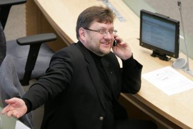 Vienintelis socialliberalų atstovas Seime papildė Socialdemokratų frakciją