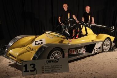 """""""Omnitel 1000 km lenktynėse"""" – dar nematytas """"Spire GT-R"""""""