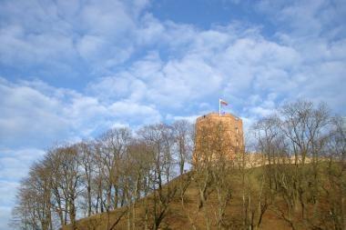 Kultūros ministerija rado 640 tūkst. litų Gedimino kalno tvarkymui