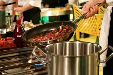 Maisto gaminimas ant dujinių viryklių gali būti pavojingas sveikatai