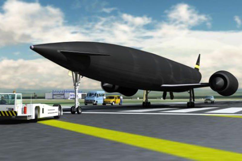 """Pradėti britų kosminio lėktuvo """"Skylon"""" variklių testai"""