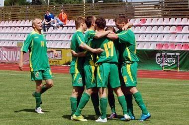 Lietuvos jaunimo rinktinė Baltijos taurės varžybas pradėjo pergale