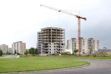 Mažiausia produkcijos paklausa - statybos sektoriuje