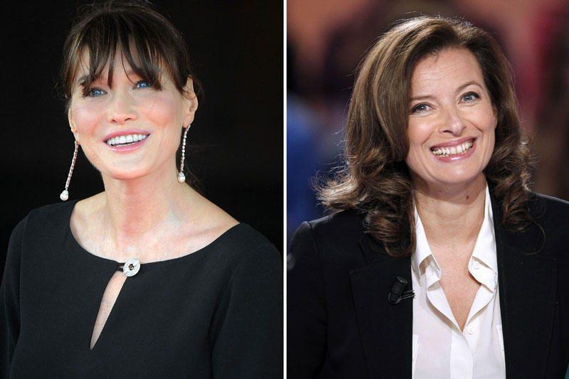 Carla ir Valerie varžosi dėl pirmosios Prancūzijos ponios pareigų