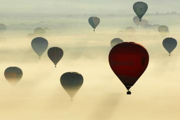 Didžiausias oro balionas – Lietuvoje