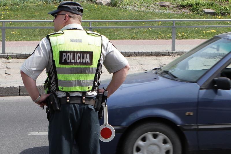 Girtas panevėžietis kurorte vairuodamas įkliuvo policijai