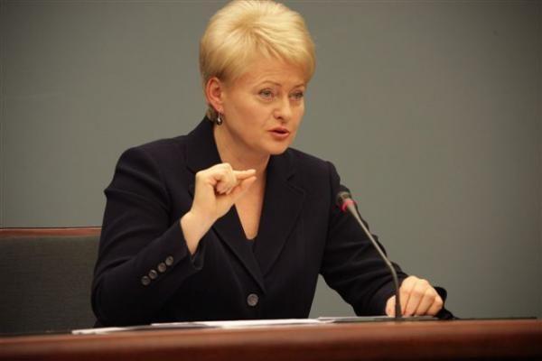 D.Grybauskaitė: Rusijai reikia padėti kuo tik įmanoma