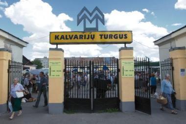 Taryba nepritarė Kalvarijų turgaus nuomai