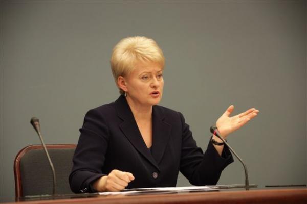 Prezidentė dalyvaus Latvijos Nepriklausomybės dienos minėjime