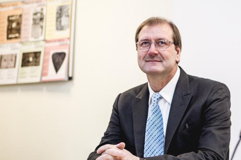 Darbo partijos pirmininkas V. Uspaskichas pasitempė koją