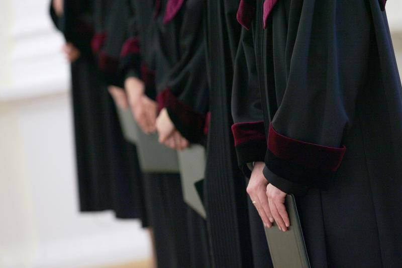 Teismas nusišalino nuo Kelių policijos biuro viršininko V.Mačėno bylos