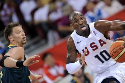 JAV sutriuškino australų krepšininkus