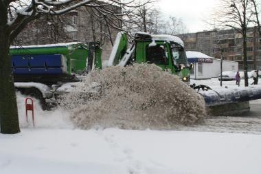 Kelininkai: padėtis Klaipėdos gatvėse kontroliuojama