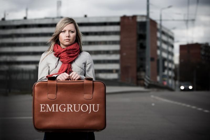 Kas antras emigrantas – jaunuolis iki 29 metų