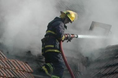 Šeštadienio naktį gaisre žuvo žmogus